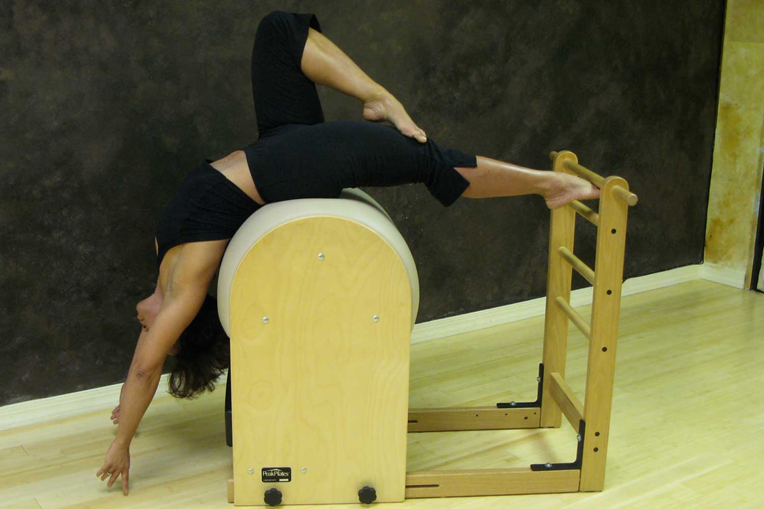 Pilates Ladder Barrel Stretch